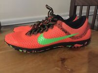 Nike Zoom Rival Xc Cross Country Women Shoes Lava Lime Green 749351 830 Size 8