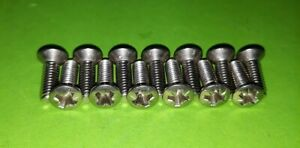 VW-Thing-Trekker-181-Front-Screen-To-Roof-Hard-Soft-Top-Catches-STAINLESS-Screws
