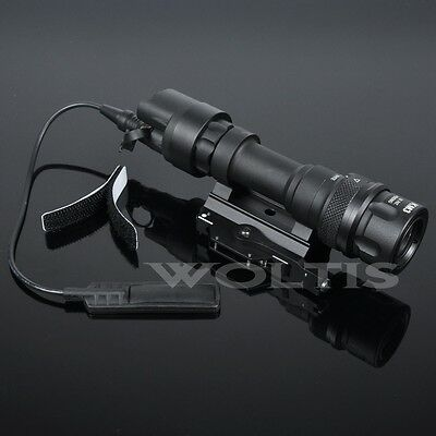 M952V 400 Lumen Constant Light / Strobe LED Flashlight QD Quick Detach Mount