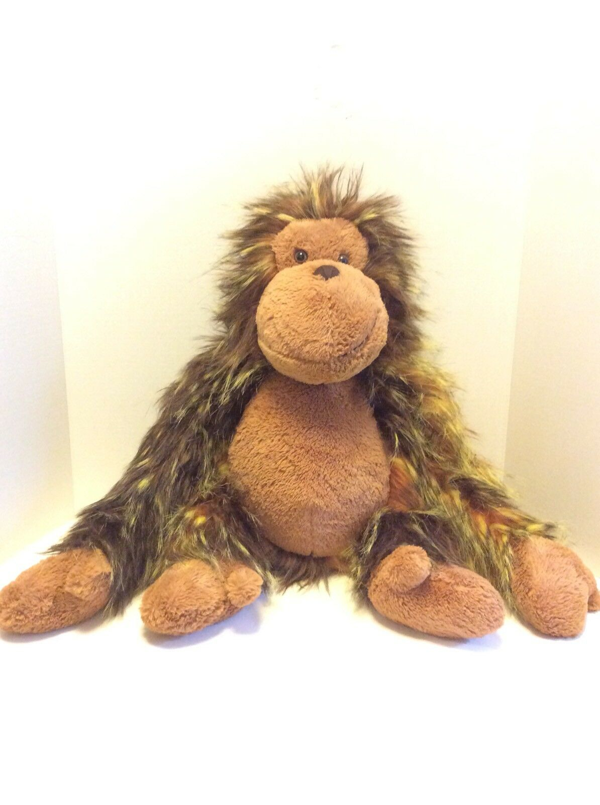 Jellycat Oscar The Orangutan Ape 22in Furry Large Plush Stuffed Animal Gorilla