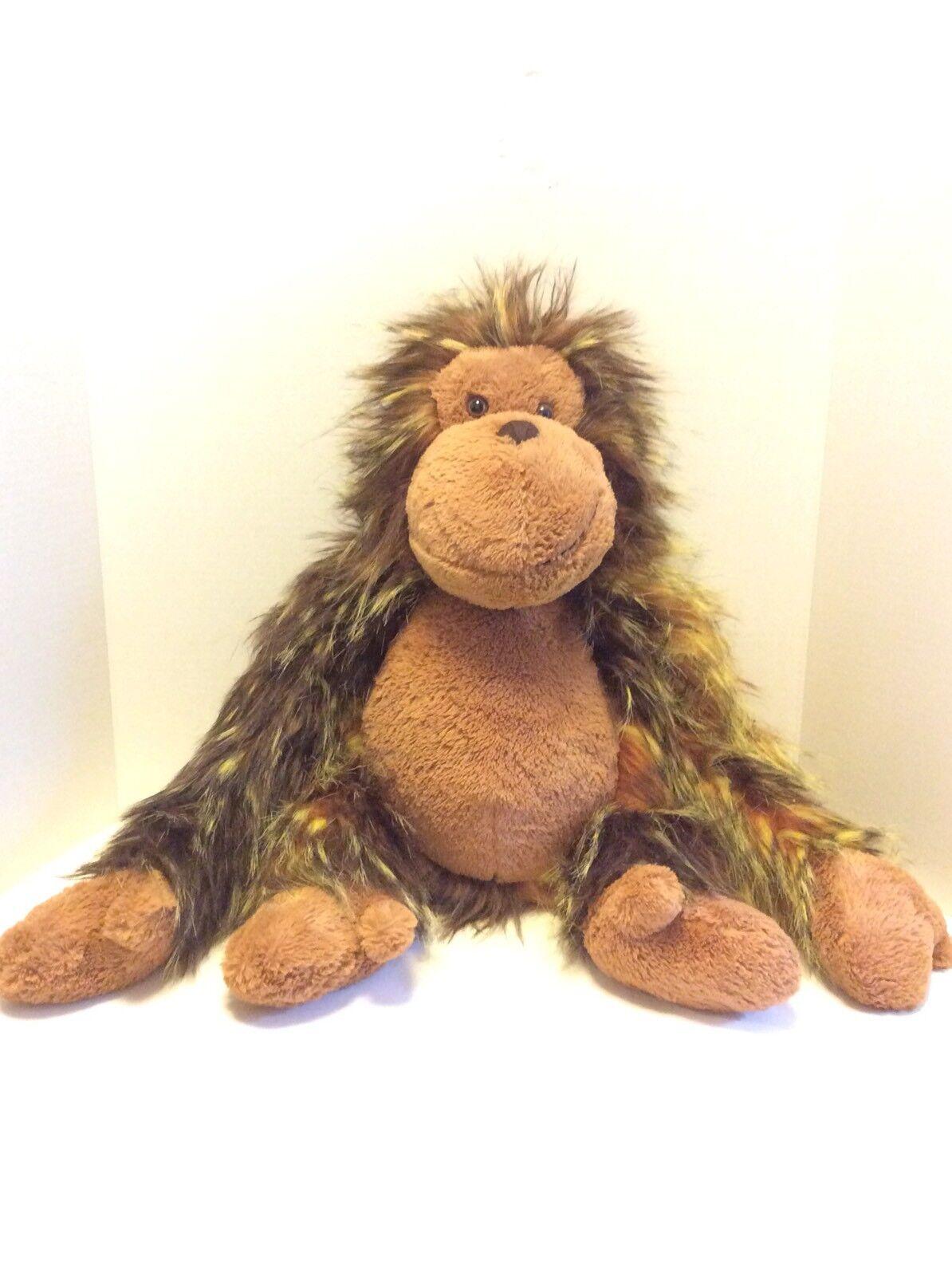 Jellycat Oscar The Orangutan Ape 22in Furry Large Plush Stuffed Animal Gorilla