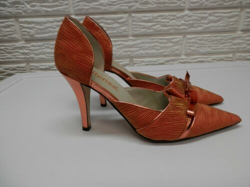 J. Renee Orange ANNIKA High Heels Size 7.5