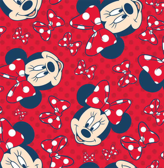 Disney Minnie Red Bow Wallpaper