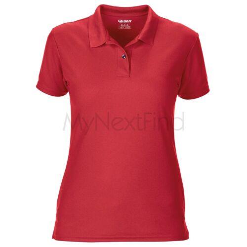 Gildan Womens Performance Double Pique Sport Shirt