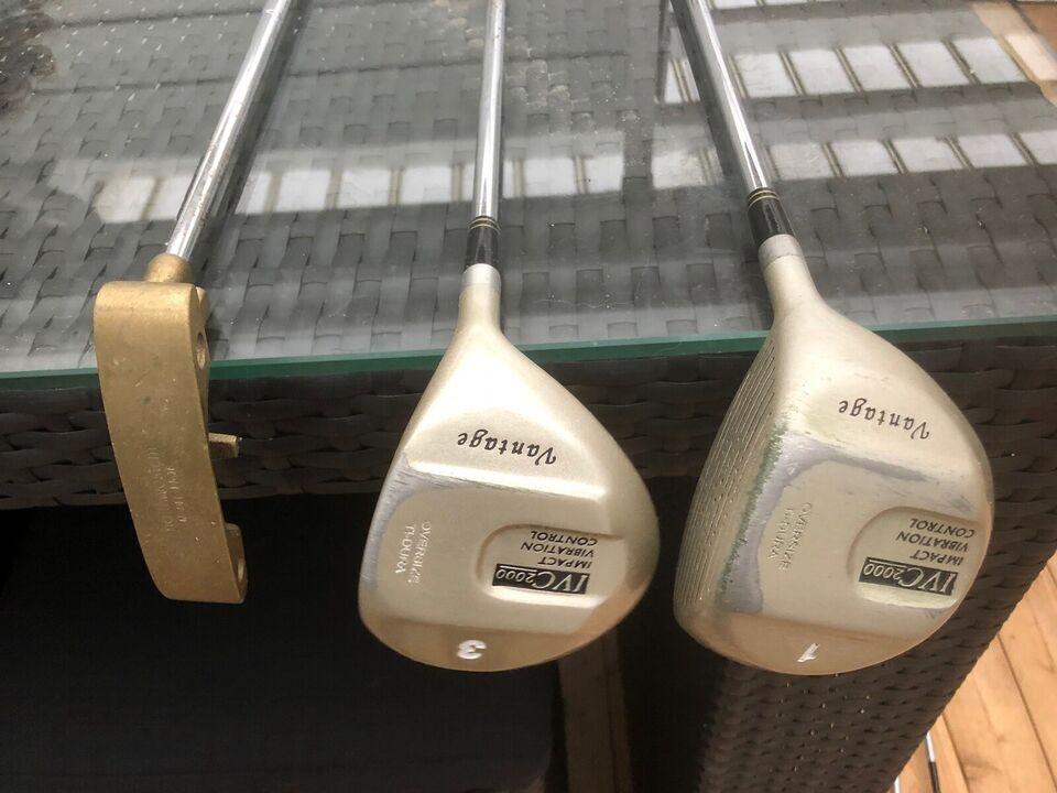 Herre golfsæt, stål, Vantage