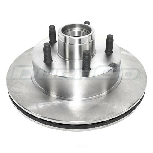 Disc Brake Rotor and Hub Assembly Front IAP Dura BR5447