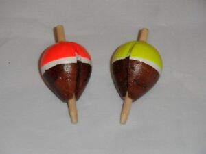 Original-Cork-Pike-Floats-Red-and-Yellow-colours-available