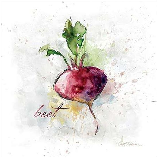 Carol Robinson  Veggie Beet Keilrahmen-Bild Leinwand Küche Gemüse Esszimmer
