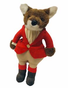 1982-Vintage-Little-Folk-Renard-Fox-Huntsman-Stuffed-Animal-Doll-Rare