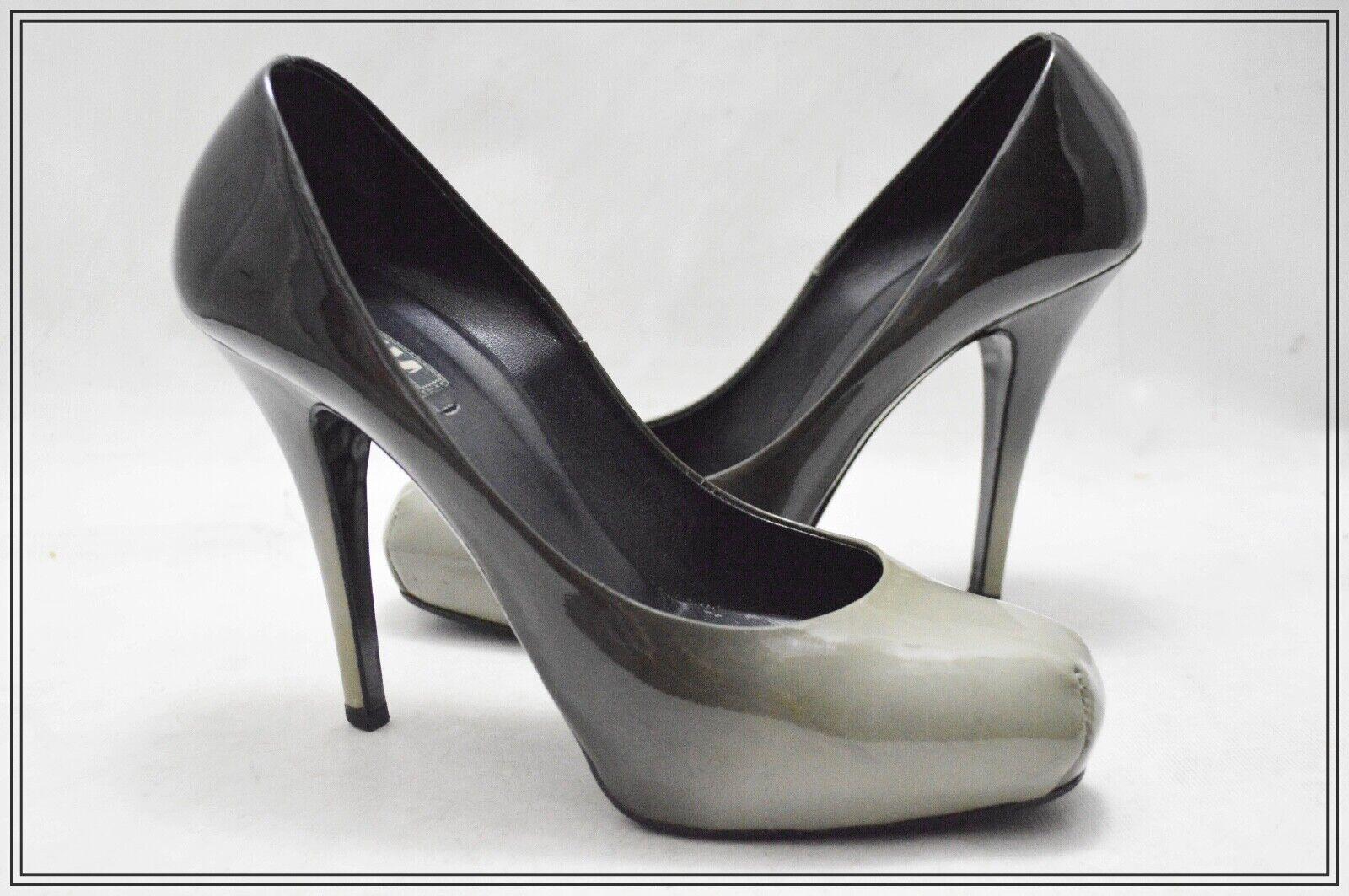 LE SILLA Patent Genuine Leather Ombre Women's Heels EUR 40