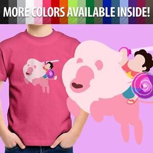 Rose-Quartz-Lion-Crystal-Gems-Steven-Universe-Gem-Toddler-Kids-Tee-Youth-T-Shirt