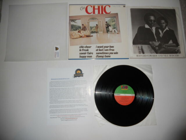 Chic C'est Nile Rodgers VG+ Analog 1st USA SD 19209 1978 Press Ultrasonic CLEAN