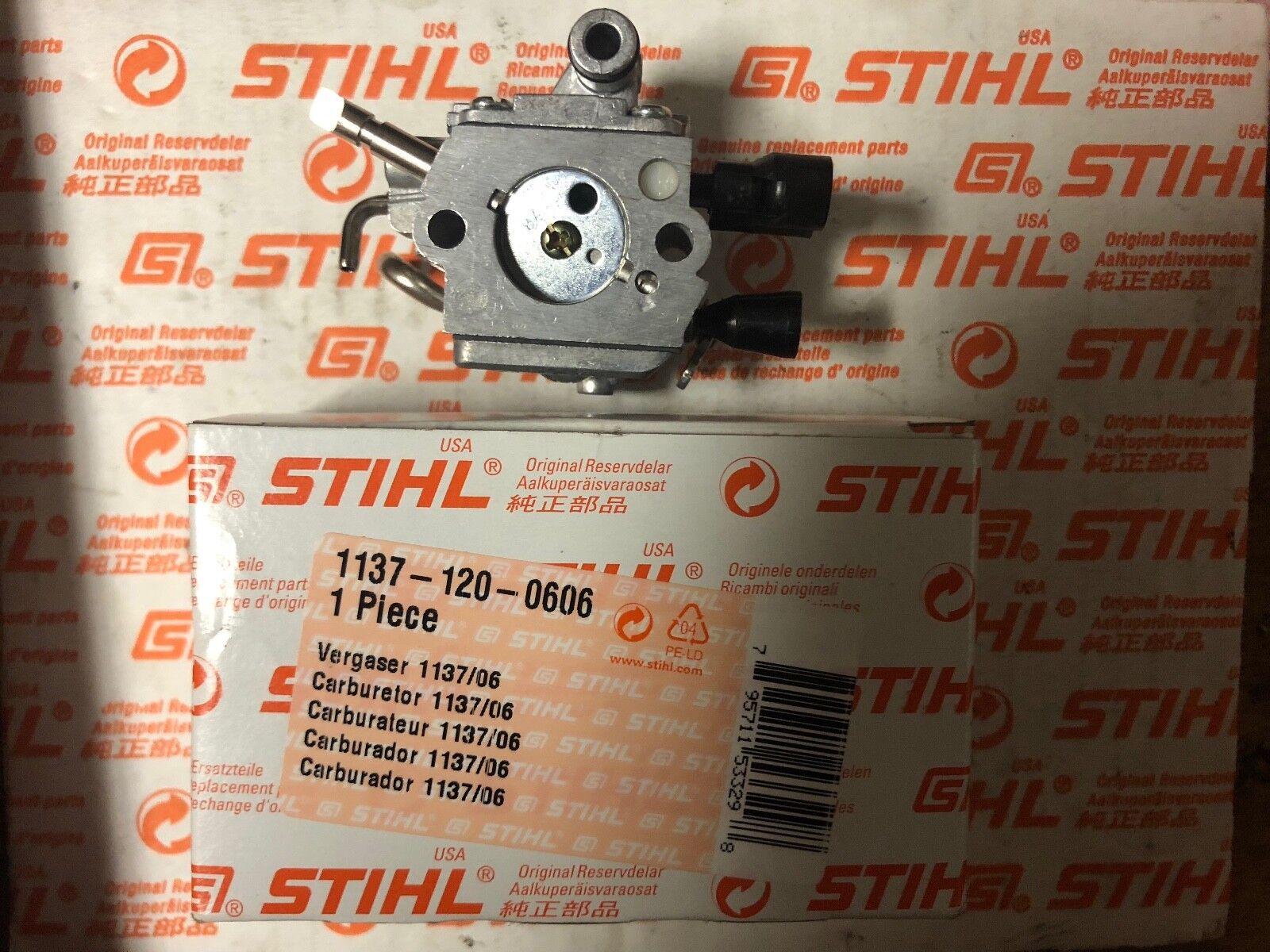 Genuine STIHL ms193t Cocheburador Cocheburador Zama 805a, 1137 120 0606 Nuevo Oem En Caja