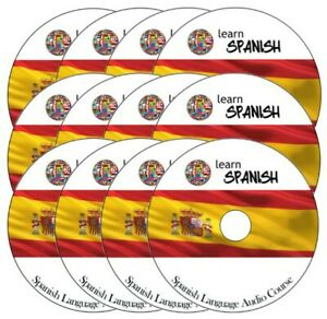 Prix ​​Pas Cher Learn To Speak Spanish Complete Language Training Course On 12 Audio Cd's BéNéFique Au Sperme