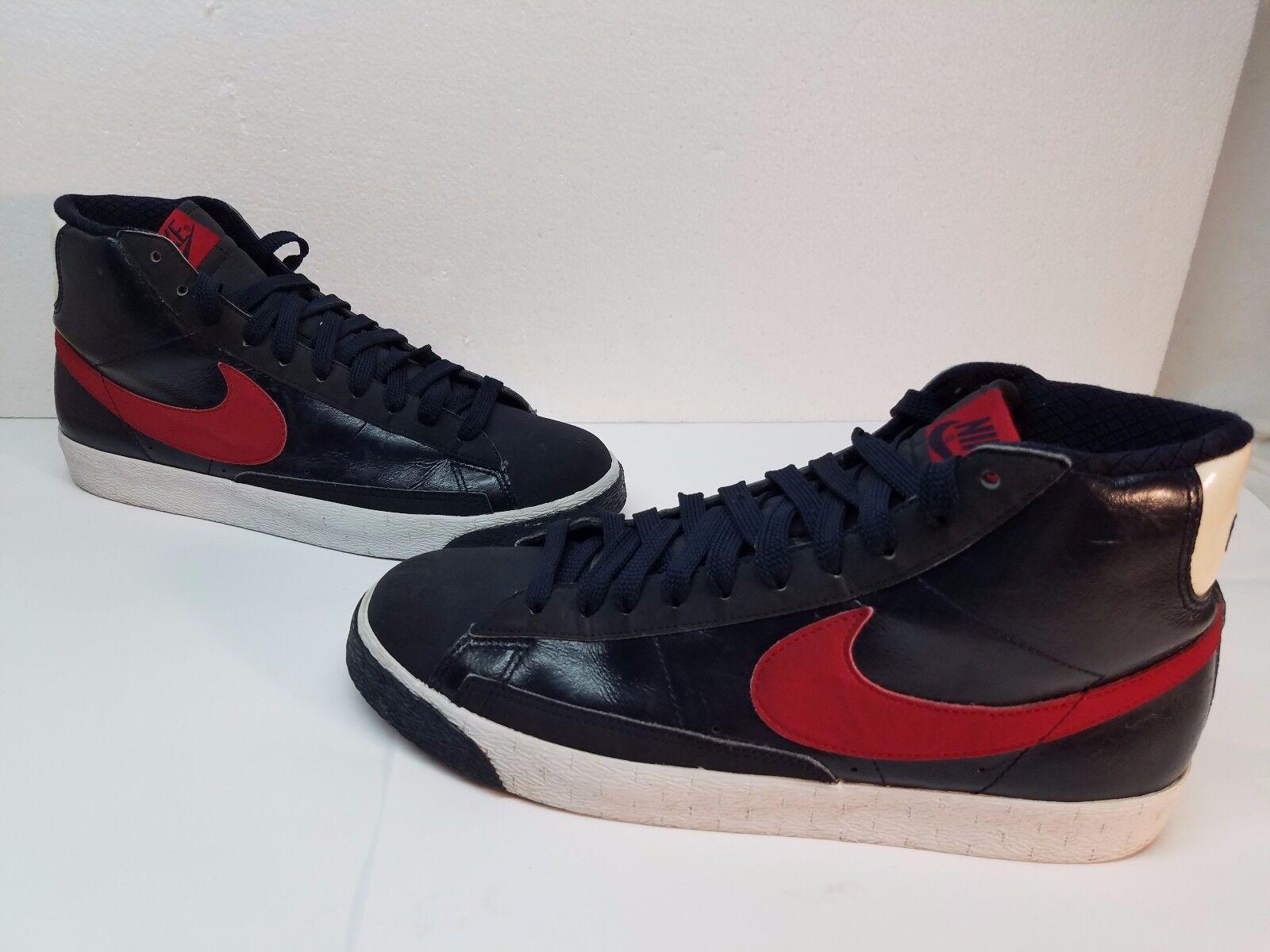 f17d41fb8a Nike Black Hi Top Top Top with Red Swoosh. 10.5 Men's, very clean b7819d