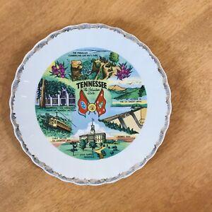 Ceramic Nashville Souvenir Plate Picture