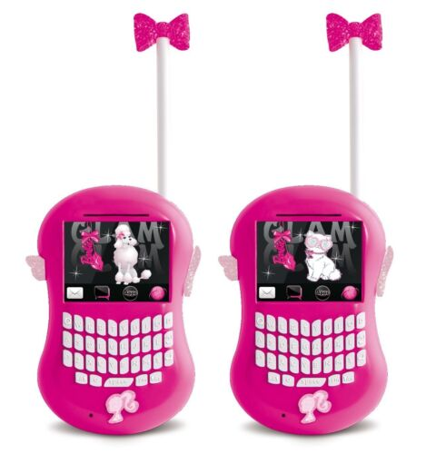 New Toy Mobile Indoor Outdoor light Girls Gift Talk Barbie Walkie Talkie Ages 3