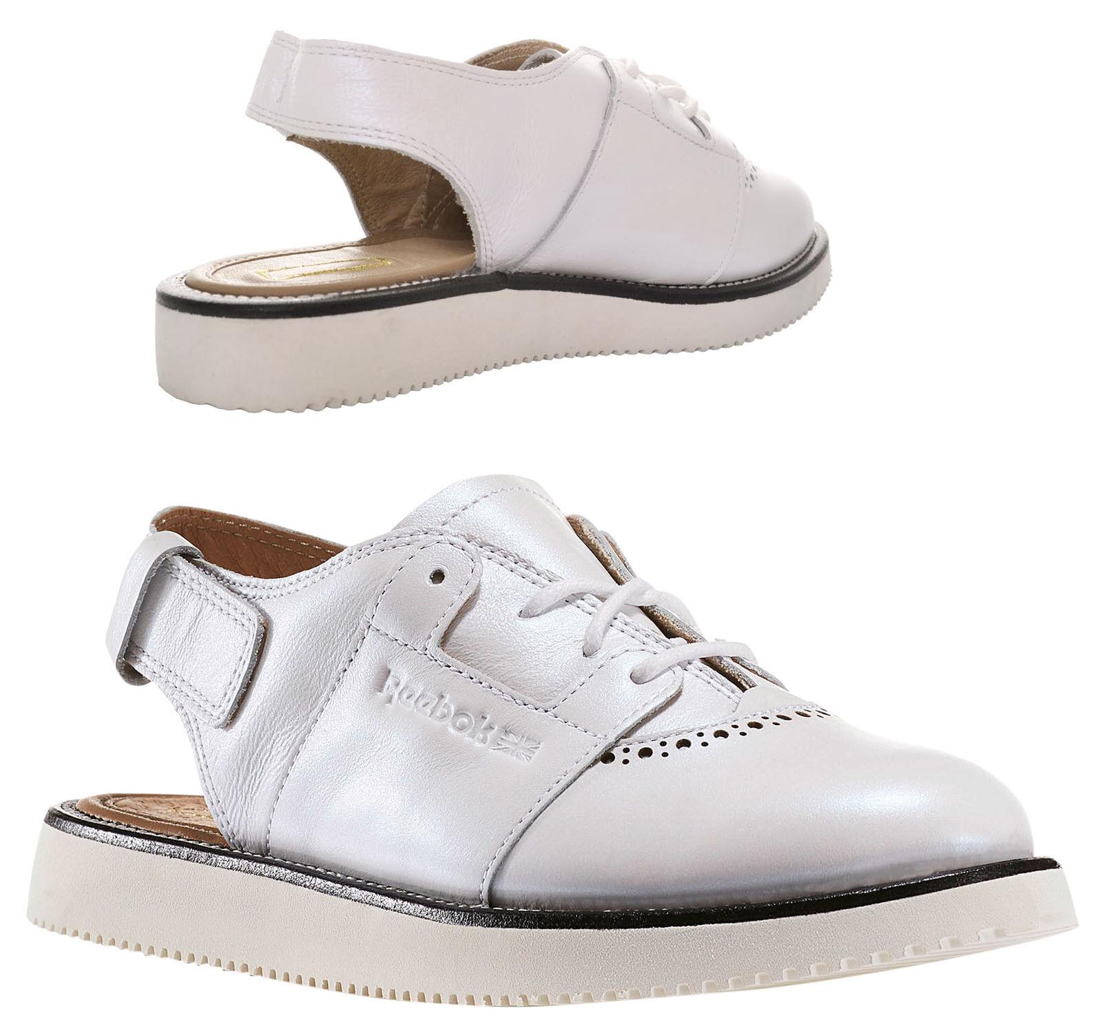 Reebok Reebok Reebok 58 Bright Street universal para mujer lo Vibram Sandalia Zapatos blancoo BD3201 M7  distribución global
