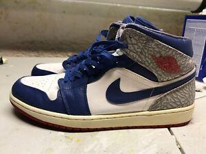 great deals best loved hot sale online Details about Air Jordan 1 MID True Blue Size 13 554724-107