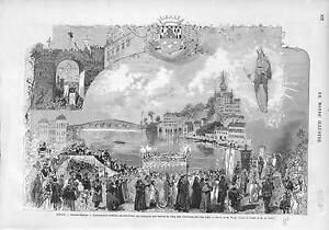 PROCESSION-A-GRAY-SOUVENIR-MIRACLE-VIERGE-QUI-SAUVA-DES-FLAMMMES-EN-1662-1873