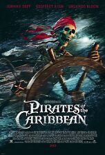 Pirates of the Caribbean - Fluch der Karibik (2003) US Import Filmplakat, Poster