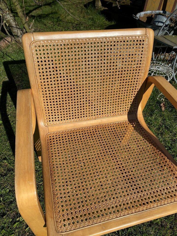Lænestol, træ, Vintage – dba.dk – Køb og Salg af Nyt og Brugt
