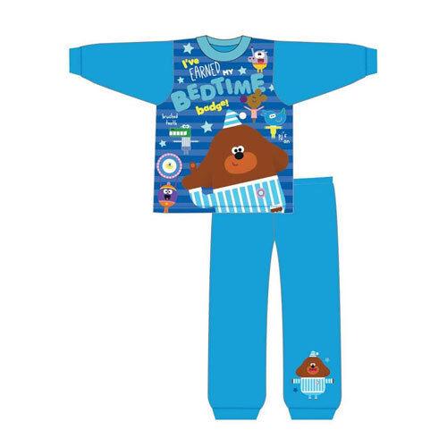 Garçons Toddler Hey duggee Snuggle Fit Pyjamas 18 mois 5yrs Pyjama Set GRATUIT UK p/&p