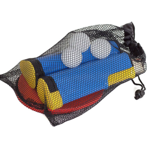 Anywhere Retractable Ping Pong Table Tennis Net /& Post Set w// 2 Paddles/&3 Balls