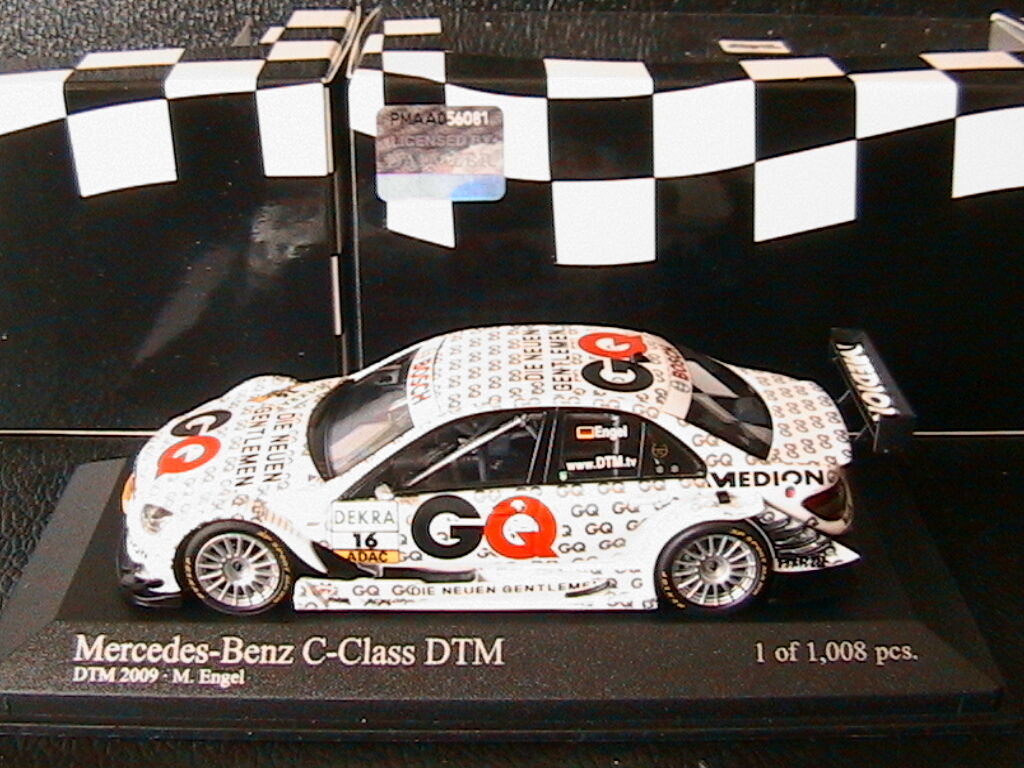 MERCEDES C CLASS  16 DTM 2009 TEAM GQ AMG MARO ENGEL MINICHAMPS 400093816 1 43