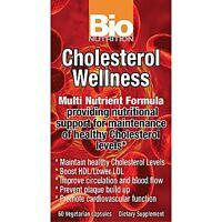 Bio Nutrition Cholesterol Wellness Multi Nutrient Formula 60 Vegetarian Capsules