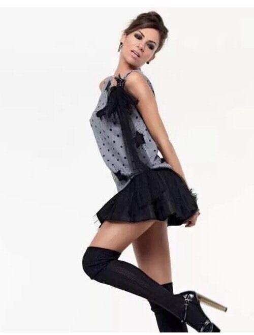 DENNY Rosa ABITO miniabito vestito art. 4150 Tg. L