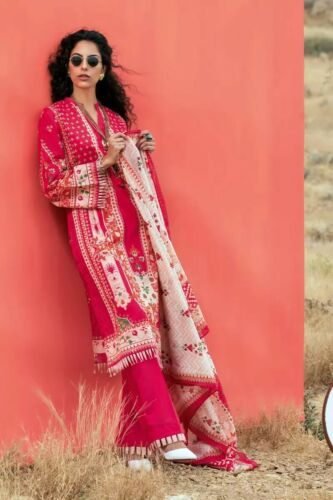 Original Gul Ahmed imprimé pelouse collection été 3 pcs décousu costume CL-814B