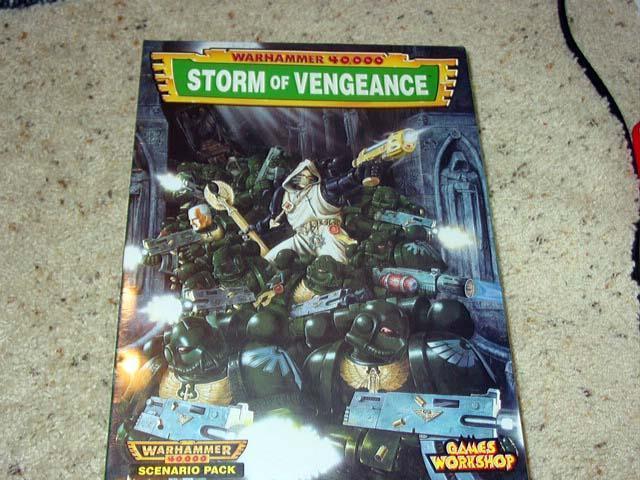 Games Workshop 1997 - WARHAMMER 40,000 - Storm Storm Storm of Vengeance  (SEALED) a2c93d