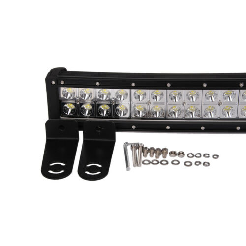 42inch 240W Epistar Led Work Curved Light Bar Spot Flood Offroad Driving 4X4 SUV