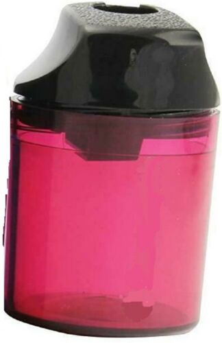 Pack of 1 To 12 Assorted Colours The Single/' 1 Hole Canister Pencil Sharpener