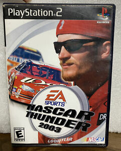 🚘PS2 Nascar Thunder 2003 Playstation 2 Game Complete With Manual