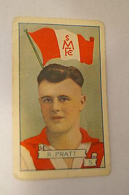 South Melbourne - 1934 - Vintage Allens - Pennants Series - R. Pratt.
