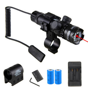 Tactical-Green-Red-Laser-Rifle-Sight-Scope-Hunting-Gun-Mount-Remote-Switch