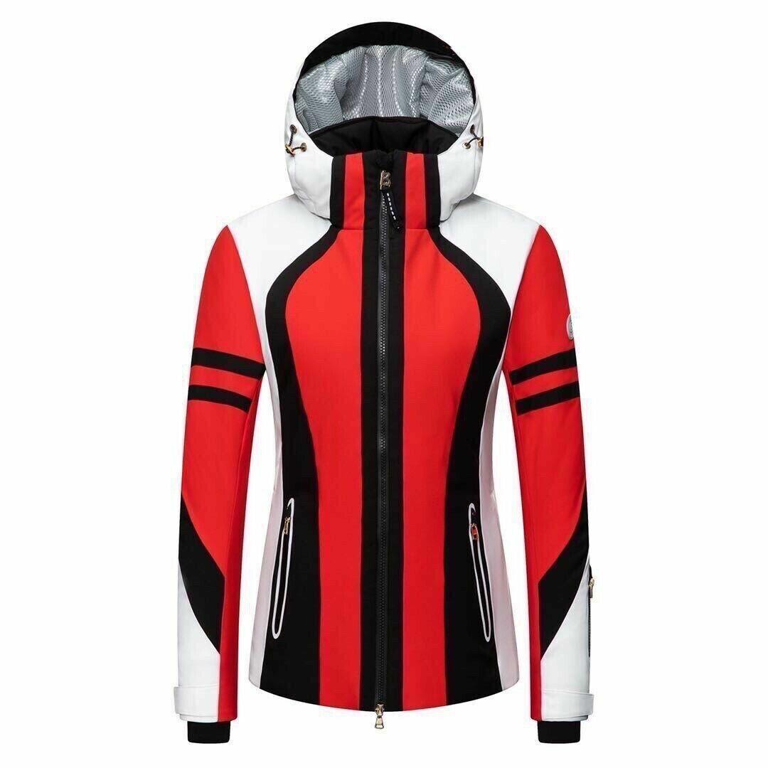 Bogner Dalia T insulation womens ski snowboard jacket US S EU 36 NWT red