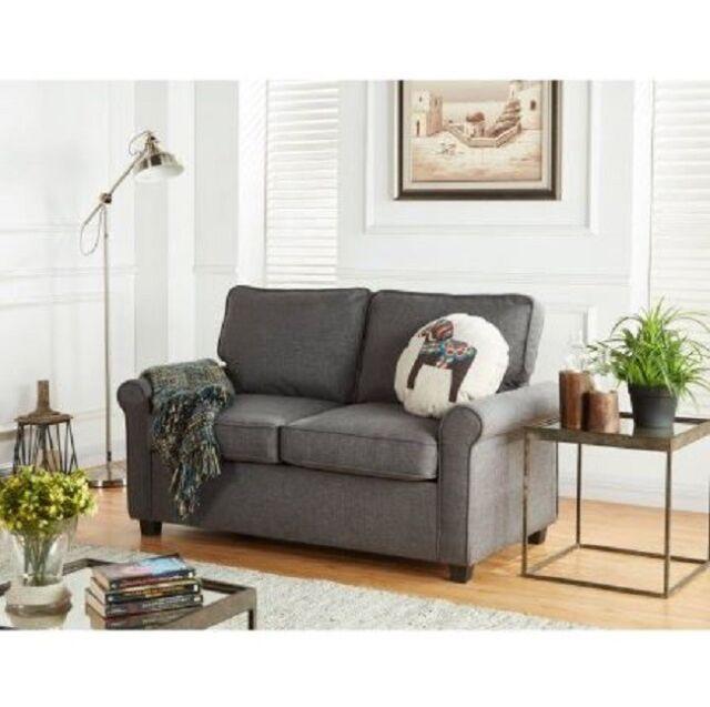 Swell Love Seat With Sleeper Memory Foam Mattress Twin Grey Bed Secondary Sleeping New Inzonedesignstudio Interior Chair Design Inzonedesignstudiocom