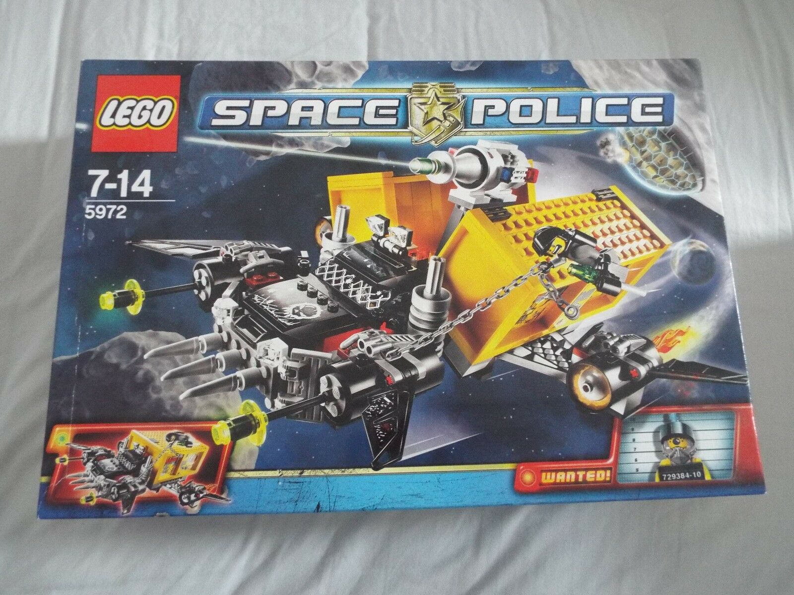 LEGO 5972 Space Police Space Truck Getaway Brand new in box. RARE in UK