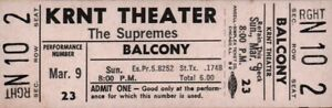 THE-SUPREMES-1969-TOUR-UNUSED-KRNT-CONCERT-TICKET-DIANA-ROSS-NM-2-MINT-No-4