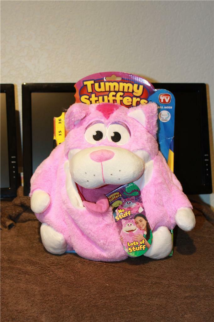 Tummy Stuffer - PINK CAT  PERSONALIZED As Seen On TV   New MUST SEE