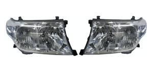Headlight-Pair-for-Toyota-Landcruiser-200-Series-UJZ200-VDJ200-08-2007-12-2011