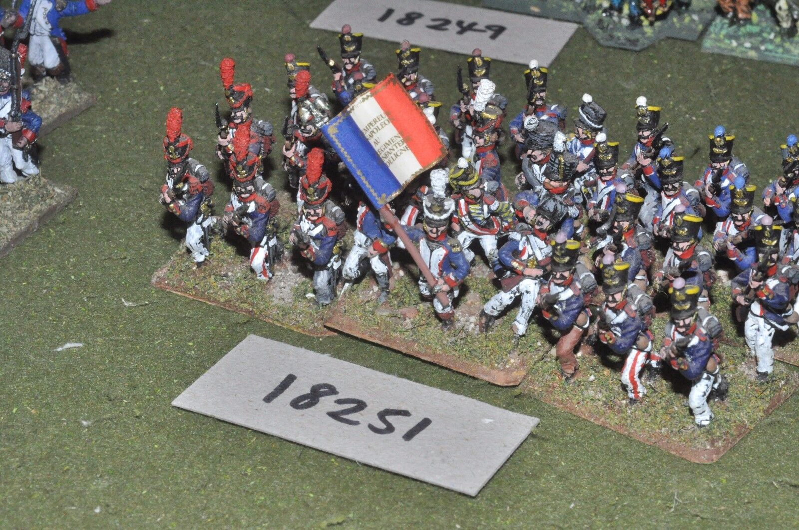 25mm napoleonic   french - infantry 36 figs - inf (18251)