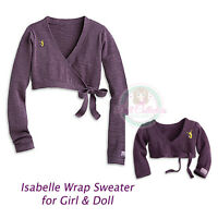 American Girl Cl Le Isabelle Duo Wrap Sweater Small 7/8 For Girl & Doll