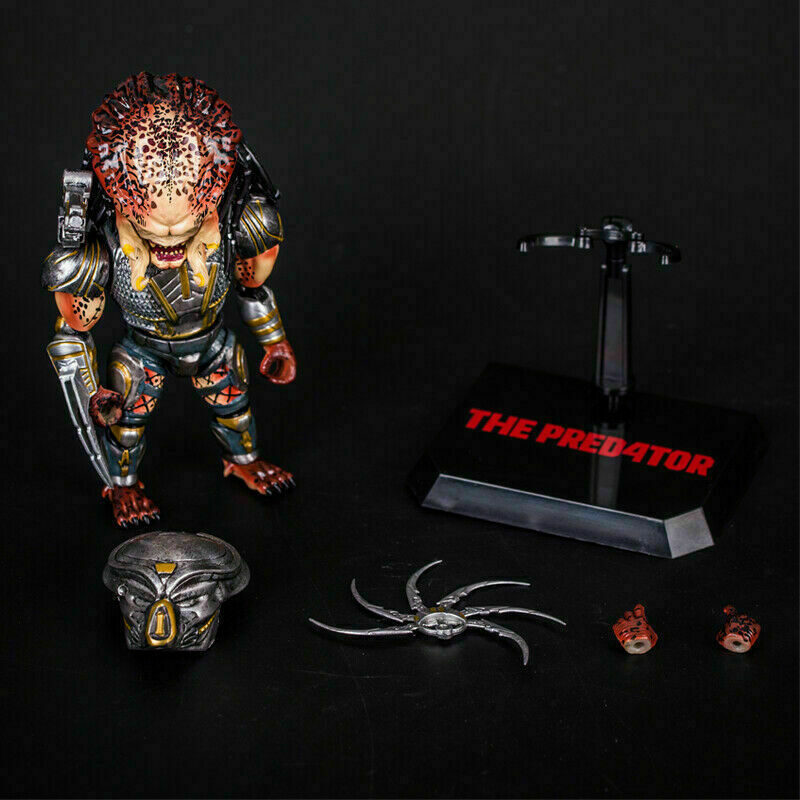 1 6th The Predator Scale Action Figure PVC HaoCaitoy HC Toy Collection Model Toy
