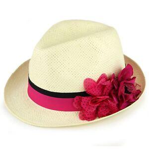 Caricamento dell immagine in corso Paglia-FEDORA-Cappello-Panama -LIBRO-ESTATE-SPIAGGIA-SOLE- 4f0be6a8182b