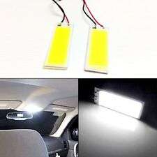 2pcs 36 LED COB Light Dome White Plate Lamp Interior Panel Car Bulb Festoon T10