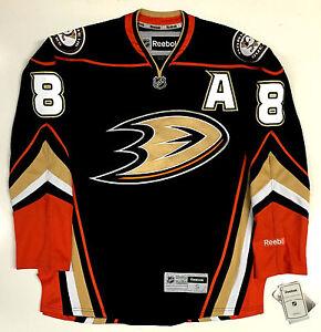 new product e7b0e 65214 Details about TEEMU SELANNE ANAHEIM DUCKS REEBOK NHL PREMIER THIRD JERSEY  WITH